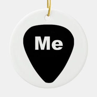 Pick Me Funny Guitar Player Ornament