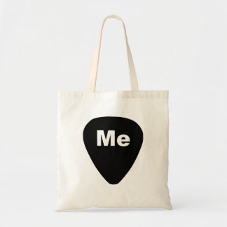 Pick Me Funny Guitar Player Tote Bag