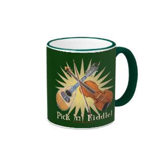 Pick 'n' Fiddle 1 Ringer Mug