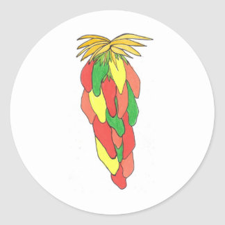 Pick of the Peppers Classic Round Sticker
