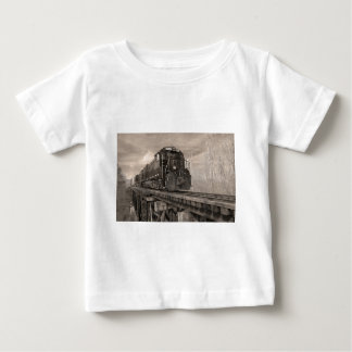 PICK OVER TRESTLE BW BABY T-Shirt