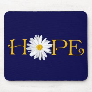 Pick Own Background - Shasta Daisy Hope Mousepad