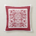 Pick The Colour, Bordered Floral Pattern Pillow