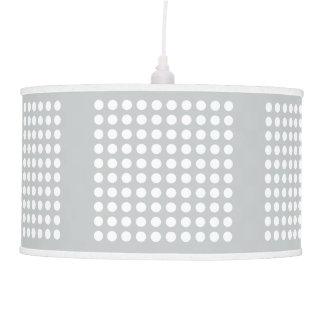 Pick The Colour, White Polka Dot Pendant Lamp
