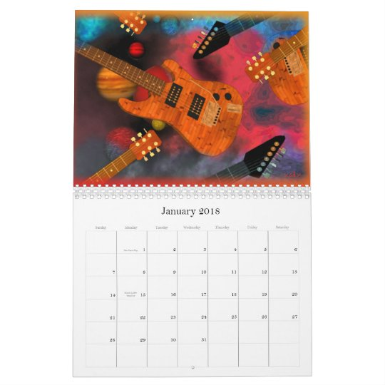 Pick this Guitar 2013 ValxArt calendar