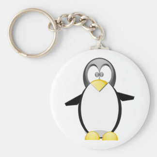 Pick Up A Penquin Keychain