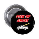 Pick Up Artist Button