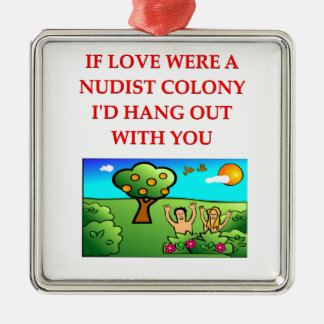 pick up line 17 christmas tree ornament