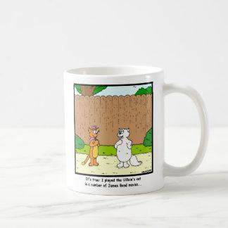 Pick up line: Cat cartoon Coffee Mug