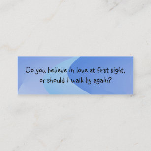 Pick up lines business cards zazzle pick up line introduction card colourmoves
