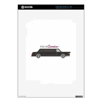 Pick Up Service Skins For The iPad 2