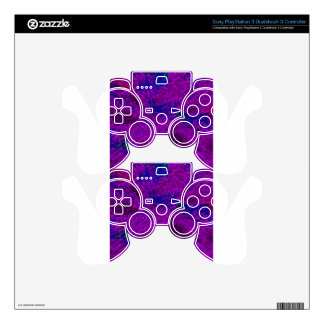 Pick-up-sticks-purple PS3 Controller Skins