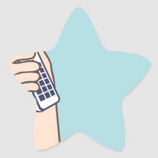 Pick up the phone Vector Star Sticker