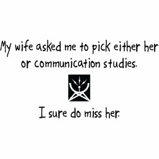 Pick Wife or Communication Studies Photo Sculptures