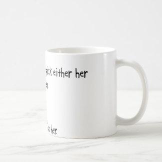 Pick Wife or Cranes Classic White Coffee Mug