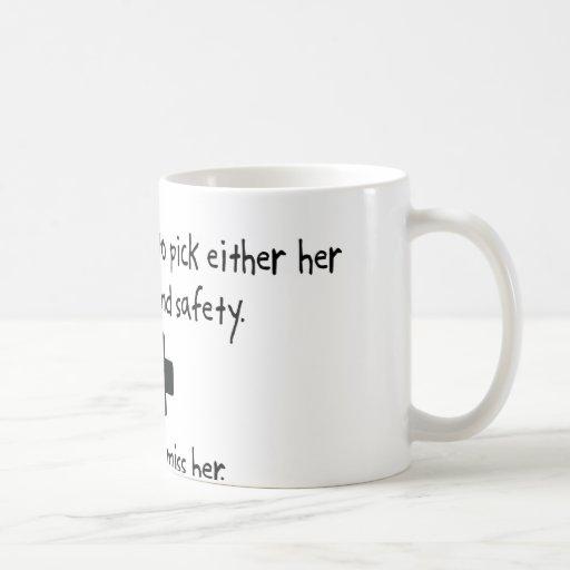 Pick Wife or Health And Safety Mug
