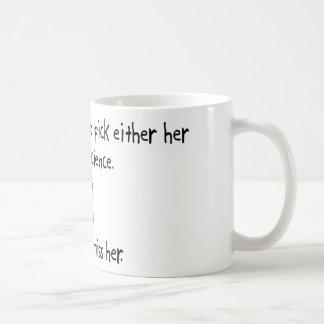 Pick Wife or Mad Science Coffee Mug