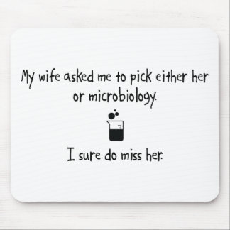 Pick Wife or Microbiology Mouse Pad