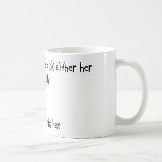 Pick Wife or Tai Chi Coffee Mugs