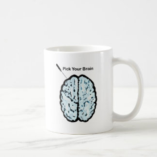 Pick Your Brain: Ice Pick Coffee Mug
