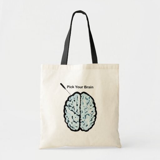 Pick Your Brain: Ice Pick Tote Bags