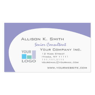 Pick Your Color, Add Your Business Logo Business Card