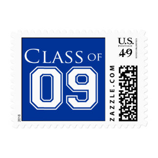 PICK YOUR COLOR - Graduation Postage Stamp