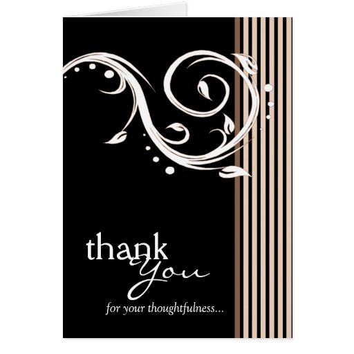 Pick YOUR Color Thank You Card