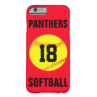 Pick Your Own Color Custom Softball Phone Case