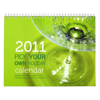 Pick Your Own Holiday Calendar 2011