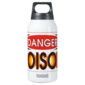 Pick Your Poison 10 Oz Insulated SIGG Thermos Water Bottle