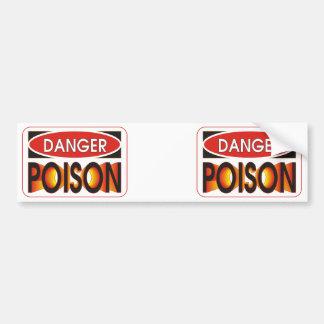 Pick Your Poison Bumper Sticker