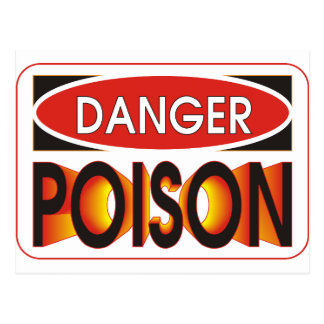 Pick Your Poison Postcard