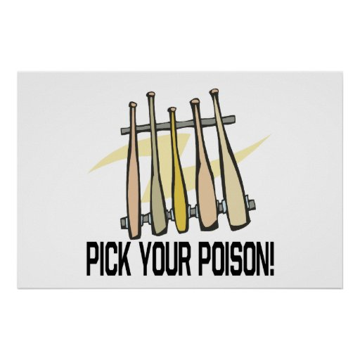 Pick Your Poison Poster