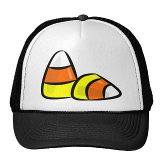 Pick Your Trick Treat Candy Corn Star Sports Team Mesh Hat