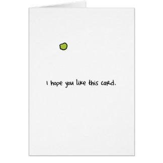 Picked Card