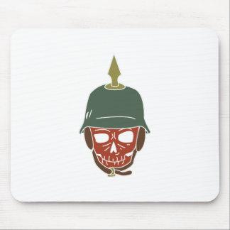 Pickelhaube Helmet Mouse Pad