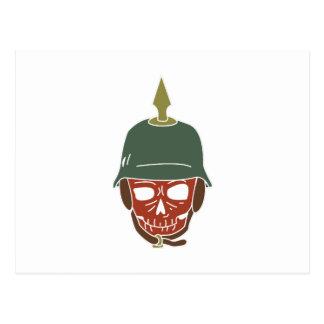 Pickelhaube Helmet Postcard