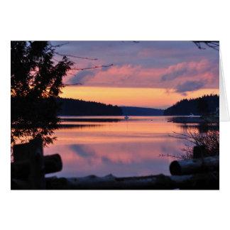 Pickering Passage Sunrise Card