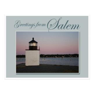 Pickering Wharf Lighthouse Postcard