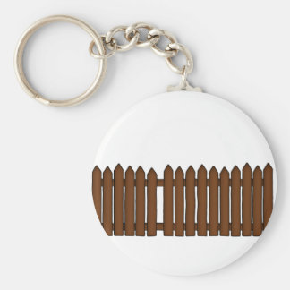 Picket Fence Keychain