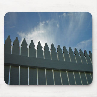 Picket fence mouse pad