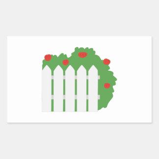 Picket Fence Sticker