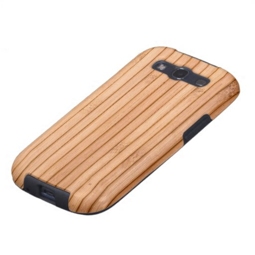 Picket Fence Wood Panels Galaxy SIII Cases