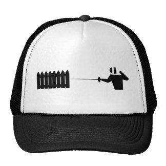 Picket fencing_2 hat