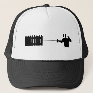 Picket fencing_2 trucker hat