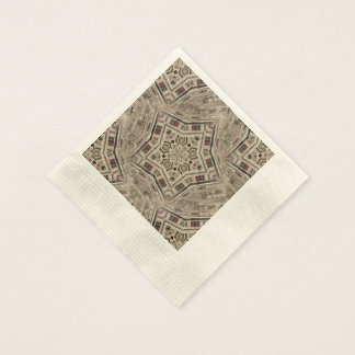 Picket Pentacles Paper Napkin