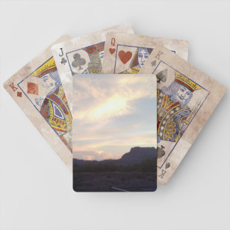 Picket Post Mountain playing cards