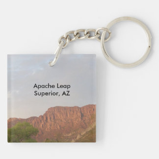 Picket Post Mountain, Superior Arizona Keychain