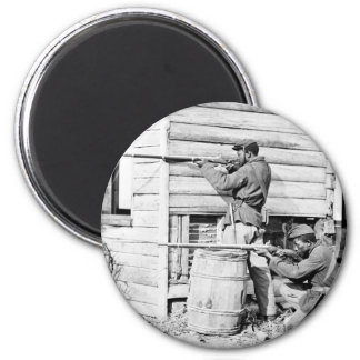 Picket Station of Colored Troops Dutch Gap Canal Magnet